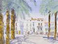 Plaza Grande en Zafra, Extremadura