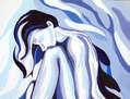 Mujer azul (III)