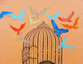 la jaula que abre en días de dicha/ the cage than open in days of happiness