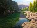reflejos en esmeralda -Alta Garrotxa