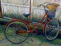bicicleta con gorro