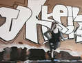 El graffity y la modelo