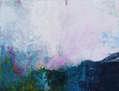 Arte abstracto. Paisaje abstracto