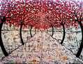 El sendero blanco de los caracoles rojos 2 (díptico)