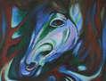 Blue Horse o caballo Azul
