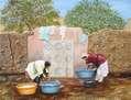 Lavanderas de Marruecos