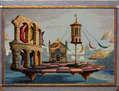 Los Juegos de las lunas, en Verona - (enmarcado)