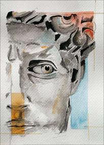 retrato de david