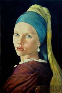 scarlett with the pearl earring