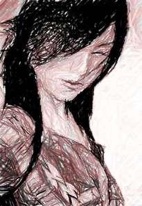 boceto rostro asiatico 2