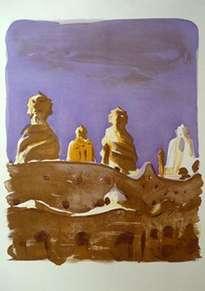 las chimeneas de la pedrera (jaume roure)