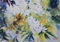 flor blanca frutal