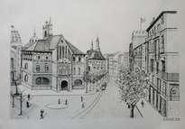 mercado central de valencia 1940