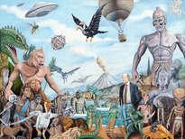 the world of ray harryhausen - painting