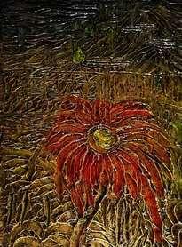 pintura en relieve por daniel pavon cuellar