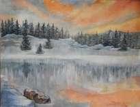 ese lago helado