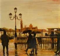 Lloviendo en Venezia