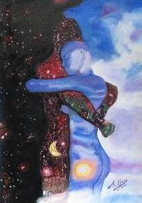 dia y noche abrazo eterno