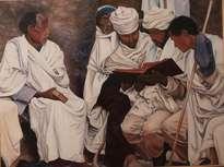 Santones en oración
