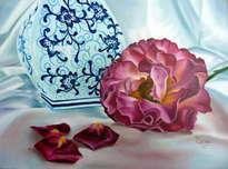 los petalos de rosa