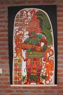 estela 10, ruinas de ceibal, guatemala