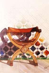 silla árabe