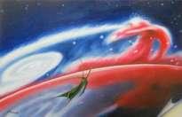 cabalgando en el viento estelar