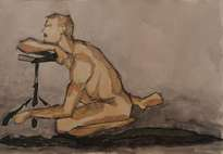 Desnudo masculino II