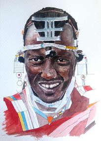 guerrero masai
