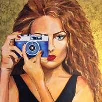 la fotógrafa