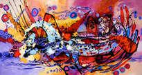 abstract barca lui noe