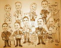 grupo de compañeros de trabajo