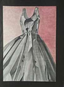el vestido  metalico