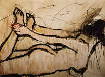 desnudo mujer 14 / rysunek akt kobieta