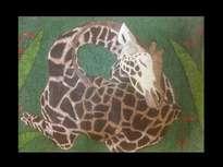 jirafa triste