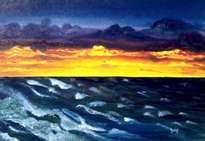 marina atardecer