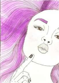 violeta beso