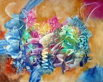 colores y serpentinas