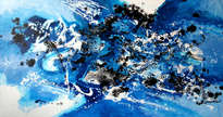 infinitele iubiri, abstract, original art elena bissinger