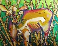 aurora la vaca loca