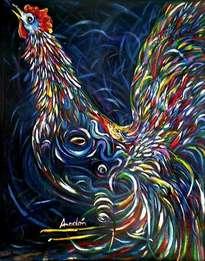 el gallo azul # 2.