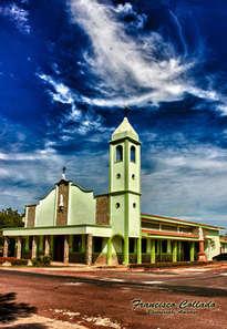 iglesia nuestra señora del rosario  . chitre-herrera-panamá