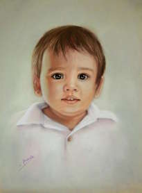 el niño de los ojos verdes