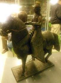 yegua con jinete