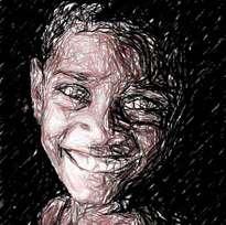 rostro niño de la calle 9