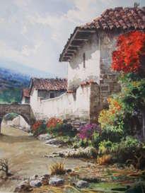 casa colonial de totora