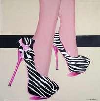zebra shoes.