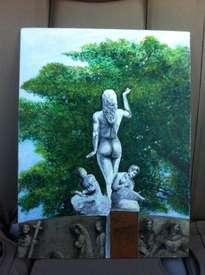 la musa del parque (diosa de la música)