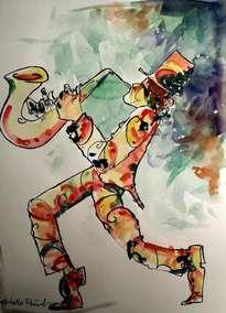el saxofonista mágico