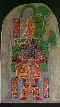 estela 16, tikal, guatemala